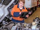 Deaf diesel mechanic is getting the job done at Fuso Geelong