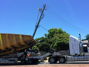 More than 500 left without power after truck incident