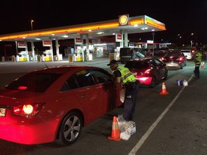 Drugs, cash seized as highway halts for drink/drug testing