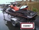A jet ski similar in colour and make to this one was stolen from Mt Forbes.