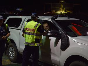 Police conduct a major drink/drug driving operation