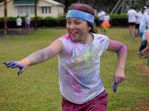 Colourful fundraiser a community effort