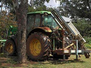 Stolen Tractor; Police need your help