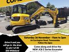 Come and drive the new JCB Z series excavator and go in the draw to win 1 of 20 $50 Wideland  gift vouchers.