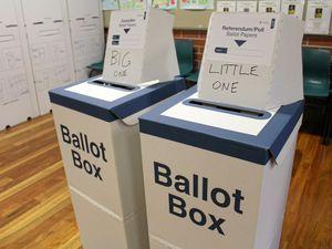 Voting in full swing across the Tweed