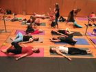 YOGI HEAVEN: The country's biggest yoga event, YogaFest, enters its second day on the Sunshine Coast today.