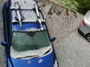 Hail as big as 20c pieces hammers parts of Auckland