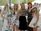 Melbourne Cup celebrations at Corbould Park, Caloundra.Ainsley Sherwell, Sharna Williams, Kaylan Bennett, Kaitlin Powter and Zoe Dickens.