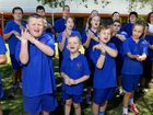 Students at Claremont Special School practice for 'Music- Count us In', where students across the country sing the same song, on the same day, at the same time.