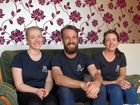 BLUEBIRD BUDDIES: Olivia Noble, Chris Burt and Bron Hefferan are just some of the team at Bluebird Kitchen and Bar.