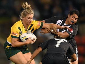 Ruan Sims becomes first woman to sign NRL player contract