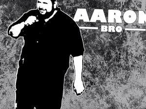 Comedian Aaron Pratt