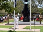Maroochydore Remembrance Day service.