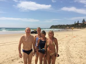 SHARK SIGHTING: Swimmers pulled from the beach