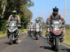 ON THE ROAD: Hundreds of BMW riders rolled through Kingaroy on Thursday during their annual road safari.