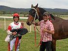 RACING BLOOD: Father-daughter duo, apprentice jockey Dakota Graham with her horse trainer dad, Bevan Johnson.