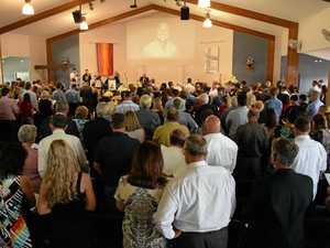Hundreds celebrate Nathan's lust for life