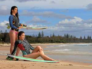 Greene sisters creating waves in and out of the water