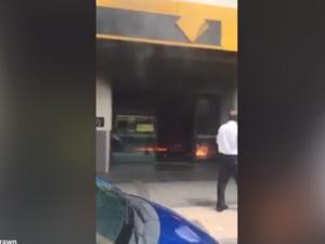Bank fire Melbourne