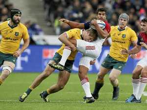 French fall short but expose Wallabies' frailties
