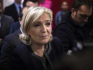 Far-right Marine Le Pen takes huge lead in French polls