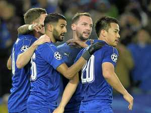 Leicester advances in Europe, but has work to do in EPL