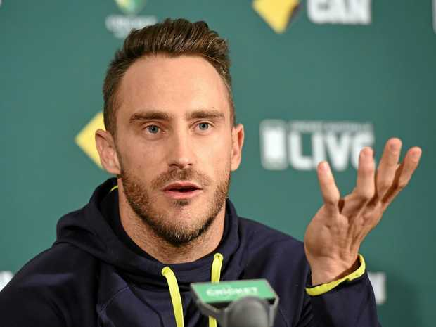 Du Plessis fined 100 % of match fee but escapes suspension