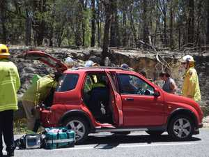 New England Highway rollover