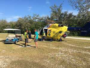 Man injured by golf cart on Lady Elliot