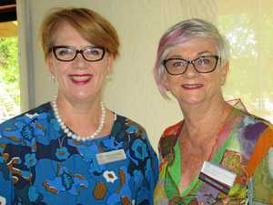 VIEW GATHERING: National Manager of VIEW Maryanne Maher and National Councillor from Gympie, Barbara Cameron attend the VIEW Club QB Gala Conference in Gympie.