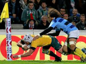 Barbarians inflict Aussies' first loss of Spring Tour