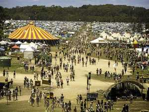 The Falls Festival at North Byron Parklands.