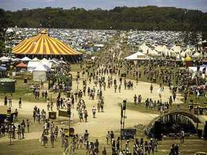 The Falls Festival at North Byron Parklands.