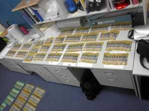 Police seize drug cash found in vehicle at car wash
