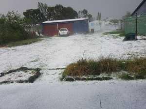 Hailstorm at Killarney