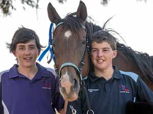 WINNERS: Lockyer Valley Riding for Disabled competitors Matthew and Josh Dingle have finished in the top three at the National Dressage Competition.
