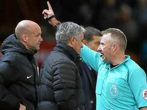 Mourinho sent to stands again