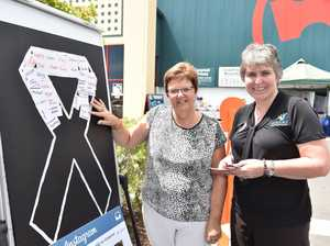 White Ribbon Day at Bunnings Hervey Bay