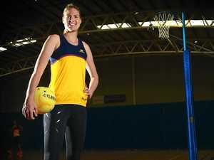 READY: Sharp-shooter Caitlin Bassett has arrived on the Sunshine Coast to train as a Lightning player.