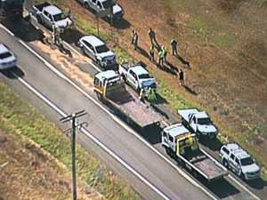 Four cars, two truck crash creates morning chaos