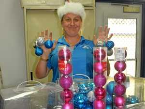 JOY: Executive officer at Whitsunday Neighbourhood Centre Rebecca Woods is ready to spread the Christmas cheer.