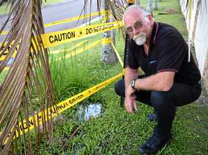 Buck passed around on swampy footpath fiasco