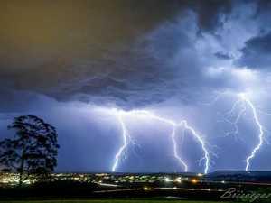 LIGHTNING STRIKES: Storm rolls over Toowoomba region