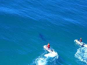 Specialised shark kits will be on stand-by when the Byron Bay Boardriders paddle out tomorrow.