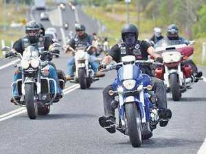 ON TOMORROW: Motorbikes will descend through Tinana in the Fraser Coast Toy Run.