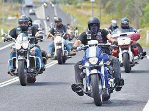 ON TOMORROW: Motorbikes will descend through Tinana in the Fraser Coast Toy Run.