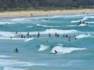 HEATWAVE: Thousands hit the beach as temps rise