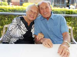 Margaret and Harold Moores celebrate their 70th wedding anniversary at Banora Point.