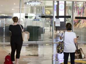 Shopping centre flooding disrupts Christmas crowds
