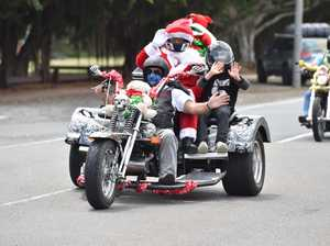 Independent Riders Fraser Coast Toy Run Cruises the Nard